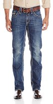 Stetson Men's Rocker Fit Flap Pocket Jeans Big And Tall - 11-004-1014-4015 Bu_X