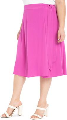 ELOQUII Wrap Skirt