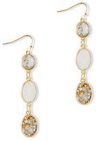 New York & Co. Dazzling Triple-Drop Earring