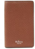 Mulberry Grain Leather Card Wallet
