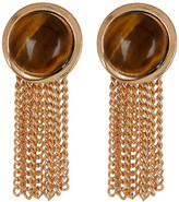 Steve Madden Tiger&s Eye Fringe Earrings