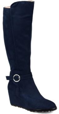 Journee Collection Women's Comfort Wide Calf Veronica Boot Women's Shoes
