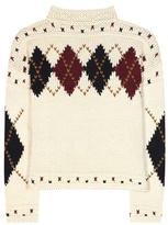 Isabel Marant Glens Wool And Alpaca Sweater