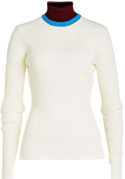 Calvin Klein Turtleneck Pullover with Wool