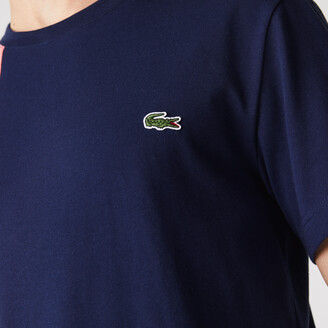Lacoste Mens Crewneck Colorblock T-shirt
