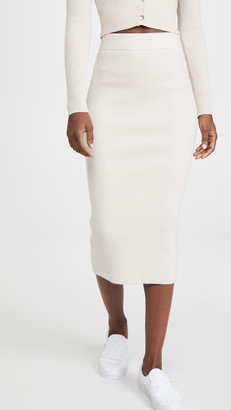 re:named apparel Gigi Knit Long Skirt