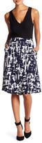 Bobeau Print Skirt (Petite)