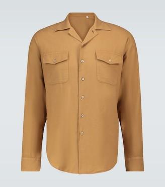 Thegigi Button-down long-sleeved shirt