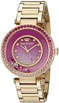 Juicy Couture Women's 1901404 Cali Analog Display Japanese Quartz Gold Watch