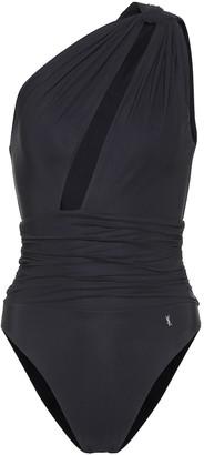 Saint Laurent One-shoulder swimsuit