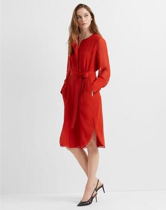 Club Monaco Shirttail Belted Dress