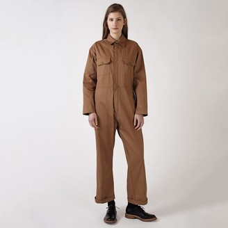 Kate Sheridan Toffee Boiler Suit - small