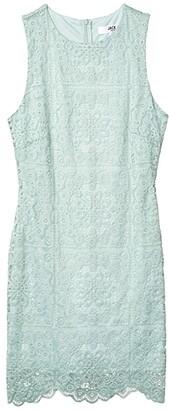 BB Dakota x Steve Madden Ace Of Lace stretch Lace Dress (Mint) Women's Dress