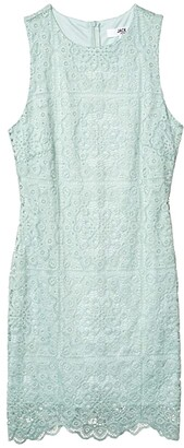 BB Dakota Ace Of Lace stretch Lace Dress (Mint) Women's Dress
