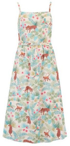 Sugarhill Boutique Tallulah Daybreak Jungle Sundress Stone - 12