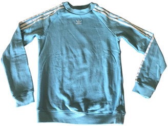 adidas Blue Cotton Knitwear