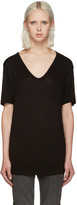 Alexander Wang Black Jersey Pocket T-Shirt