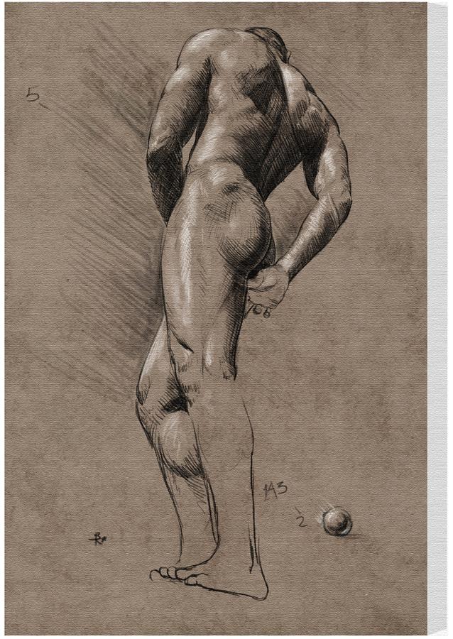 STUDY Male Figure Canvas)