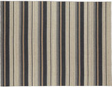 CB2 The Hill-Side workwear blanket stripe rug 9'x12'