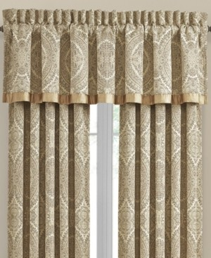 J Queen New York J Queen Sardinia Gold Straight Valance Bedding