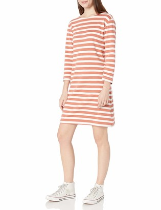 Goodthreads Cotton Interlock Flare-Sleeve Dress