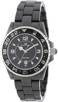 Oceanaut Womens Black Ceramic Bracelet Watch