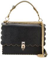 Fendi kan I gold chain shoulder bag - women - Leather - One Size