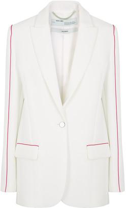 Off-White Tomboy white cady blazer