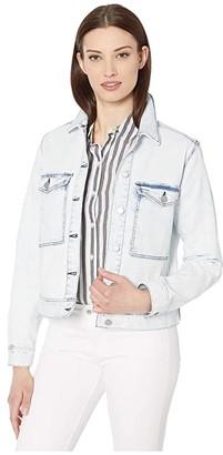 Liverpool Jacket w/ Patch Pockets (Heron) Women's Jacket
