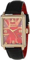 Vivienne Westwood Men's VV066GDBK The Imperialist Swiss Quartz Gold Tone Bezel Watch