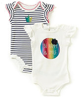 Baby Starters Baby Girls 3-12 Months Happy 2-Piece Set