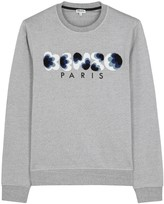 Kenzo Popcorn Grey Cotton Sweatshirt