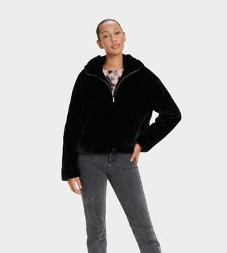 UGG Mandy Faux Fur Hoodie
