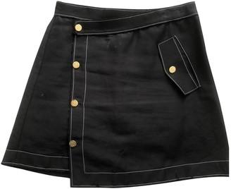 Loewe Black Linen Skirt for Women