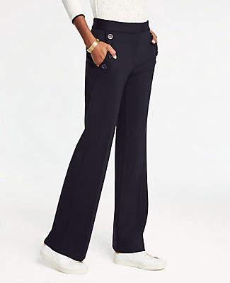 Ann Taylor Sailor Flare Trousers