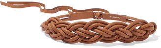 Zimmermann Tubular Braided Leather Belt