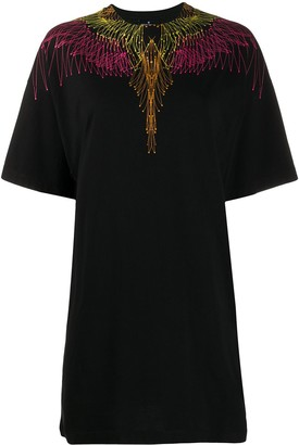 Marcelo Burlon County of Milan Wings short T-shirt dress