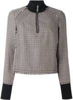 3.1 Phillip Lim longsleeved houndstooth top