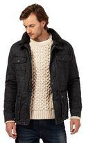 Mantaray Dark Grey Waxed Jacket