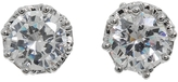 Princess CZ Stud Earrings
