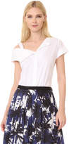 Jason Wu Asymmetrical Shirting Top