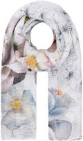 Accessorize Pleated Artistic Fleur Scarf