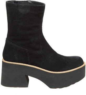 Paloma Barceló Ankle Boot Covil In Black Suede