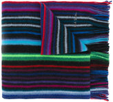 Paul Smith striped knitted scarf