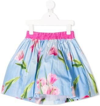 MonnaLisa Floral Mini Skirt