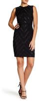 Rachel Roy Chiffon Mini Dress with Embellishment