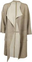 Giorgio Brato Open Front Coat