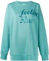 Ashish feeling blue sweatshirt