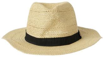 Miss Shop Open Weave Fedora Summer Hat