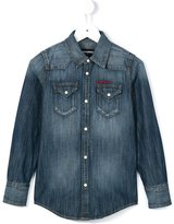 DSQUARED2 western denim shirt - kids - Cotton - 4 yrs